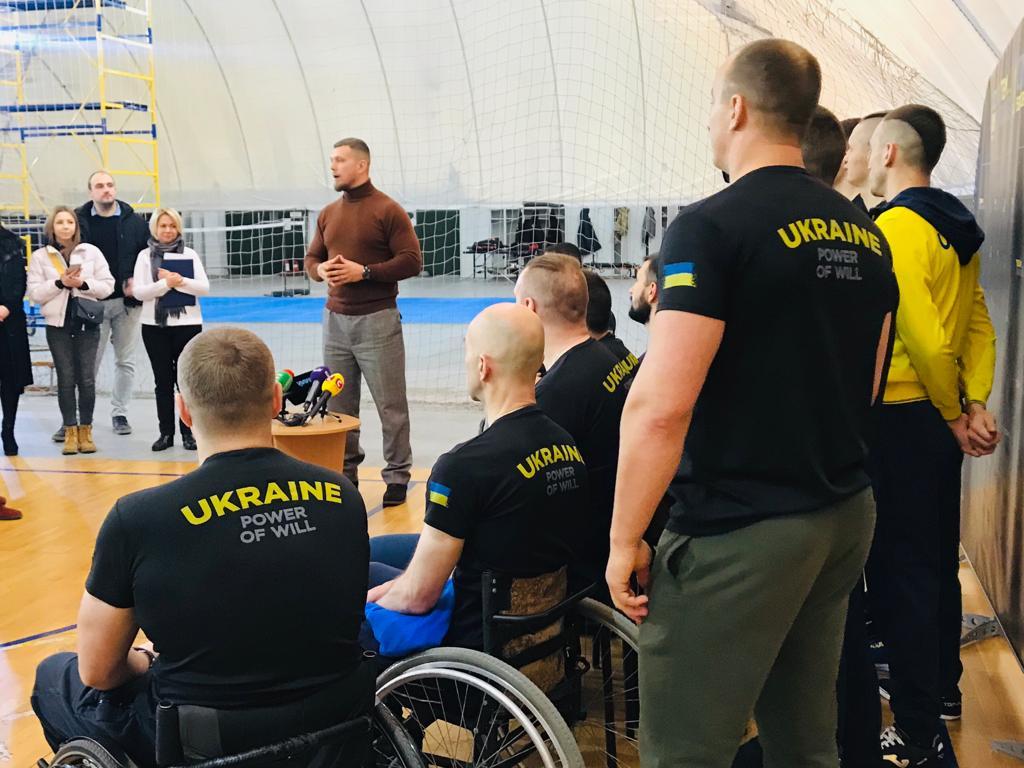 підготовчий табір «ігор нескорених» дозволив спрацюватись учасникам та тренерам та визначити подальшу програму тренувань