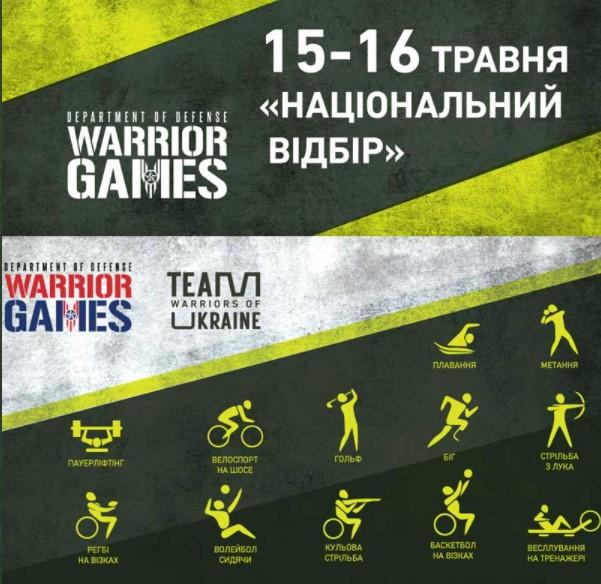 15-16 травня в києві пройдуть національні змагання «ігри воїнів» (warrior games)